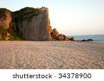 Point Dume Rock Formation And...