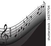 music background | Shutterstock .eps vector #34379704