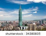 Taipei 101, the tallest building of the world