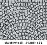 cobbles  area. vector...   Shutterstock .eps vector #343854611