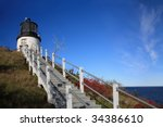 Owl's Head Light  At The...
