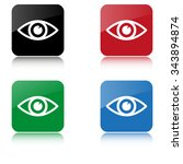 eye    color vector icon  with...