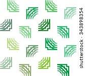 seamless vector texture of... | Shutterstock .eps vector #343898354