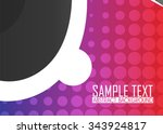 color abstract background... | Shutterstock .eps vector #343924817