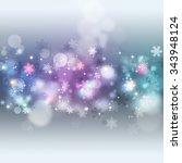 winter holiday bright... | Shutterstock . vector #343948124