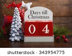 4 Days Till Christmas Vintage...