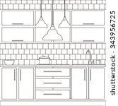 Illustration Of Kitchen...