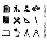 engineering tools icon. | Shutterstock .eps vector #344006291