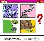 cartoon vector illustration of... | Shutterstock .eps vector #344016971