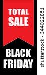 black friday sale | Shutterstock .eps vector #344022851