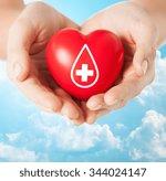 healthcare  medicine and blood... | Shutterstock . vector #344024147