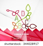 abstract geometric linear...   Shutterstock .eps vector #344028917