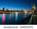 Womens Bridge At Night  Puerto...