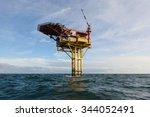 vertical photo of the oil... | Shutterstock . vector #344052491