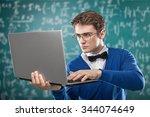 laptop. | Shutterstock . vector #344074649