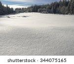 winter snow background   Shutterstock . vector #344075165