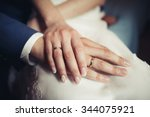 wedding rings | Shutterstock . vector #344075921
