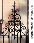 Ornate Wrought Iron Fencing. I...