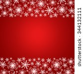 christmas background with... | Shutterstock . vector #344132111
