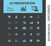 presentation  chart  diagram ... | Shutterstock .eps vector #344140601