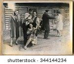 ussr   circa 1970s  an antique... | Shutterstock . vector #344144234