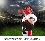 american football. | Shutterstock . vector #344203859