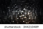 abstract background. grey mosaic | Shutterstock . vector #344210489