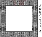 "maze as frame ""vortex tornado"" | Shutterstock .eps vector #34421224"