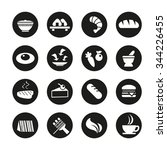 kind of food icon symbol | Shutterstock .eps vector #344226455