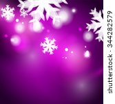 Holiday Purple Abstract...