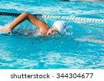 close up action shot of teen... | Shutterstock . vector #344304677