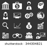 business symbol for web icons | Shutterstock .eps vector #344304821