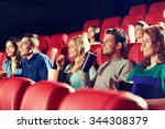 cinema  entertainment and... | Shutterstock . vector #344308379