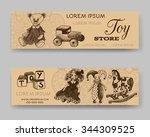 website banner or header set.... | Shutterstock .eps vector #344309525