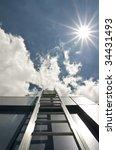 fire escape | Shutterstock . vector #34431493