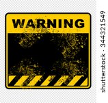 warning  sign  vector | Shutterstock .eps vector #344321549