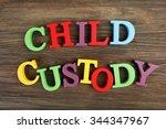 colourful letters regarding... | Shutterstock . vector #344347967