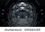 Spaceship Interior Round. 3d...