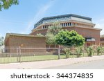 Small photo of BLOEMFONTEIN, SOUTH AFRICA, NOVEMBER 27, 2015: The Seventhday Adventist Church in Hilton, a suburb of Bloemfontein, the capital city of the Free State Province