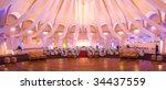 wedding   party venue | Shutterstock . vector #34437559