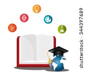 school education and learning... | Shutterstock .eps vector #344397689