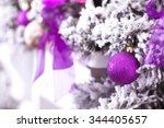 Purple Christmas Ball Hanging...