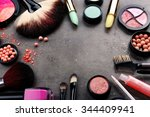Decorative Cosmetics Laying Ou...
