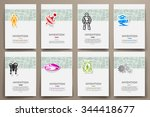 corporate identity vector... | Shutterstock .eps vector #344418677