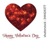 valentine day | Shutterstock .eps vector #344424377
