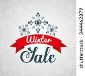 winter season design  vector... | Shutterstock .eps vector #344462879