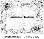 grunge texture background  ... | Shutterstock .eps vector #344473427