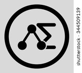 chemical analysis vector icon.... | Shutterstock .eps vector #344509139
