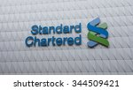 logo of standard chartered bank ... | Shutterstock . vector #344509421