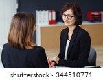 pretty young businesswoman...   Shutterstock . vector #344510771